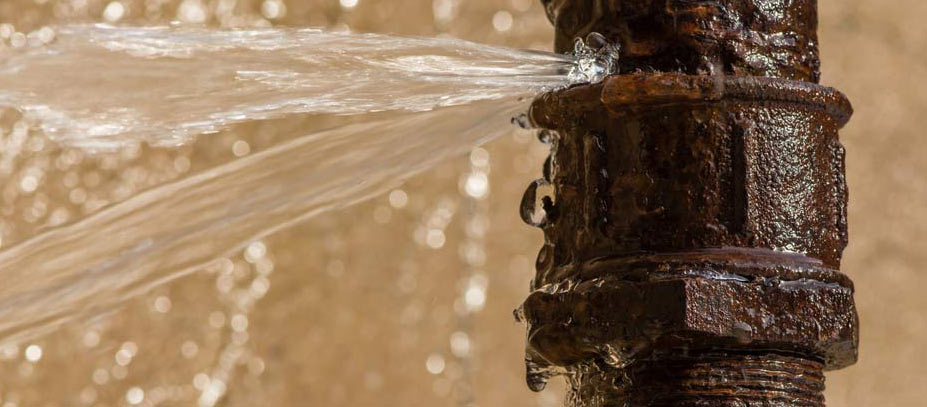 Common causes of pipe leaks
